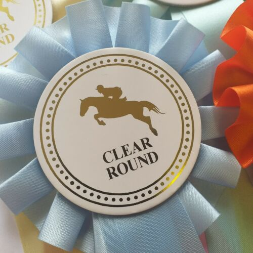 Horse Rosettes 1 Tier 1st-3rd 1 of each