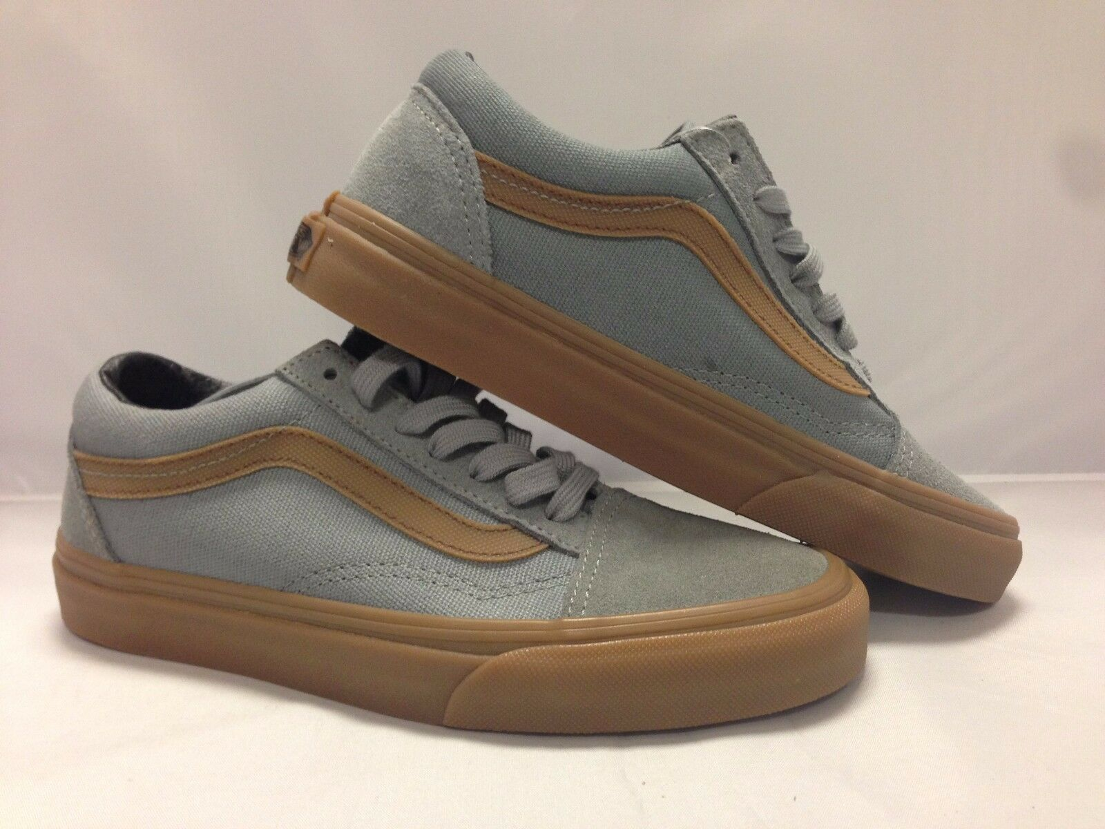 Vans Men's shoes Old Skool ''Gum Sidestripes'' Monument