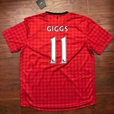 2012/13 Manchester United Home Jersey  #11 Giggs  XL  Nike BNWT Very Rare