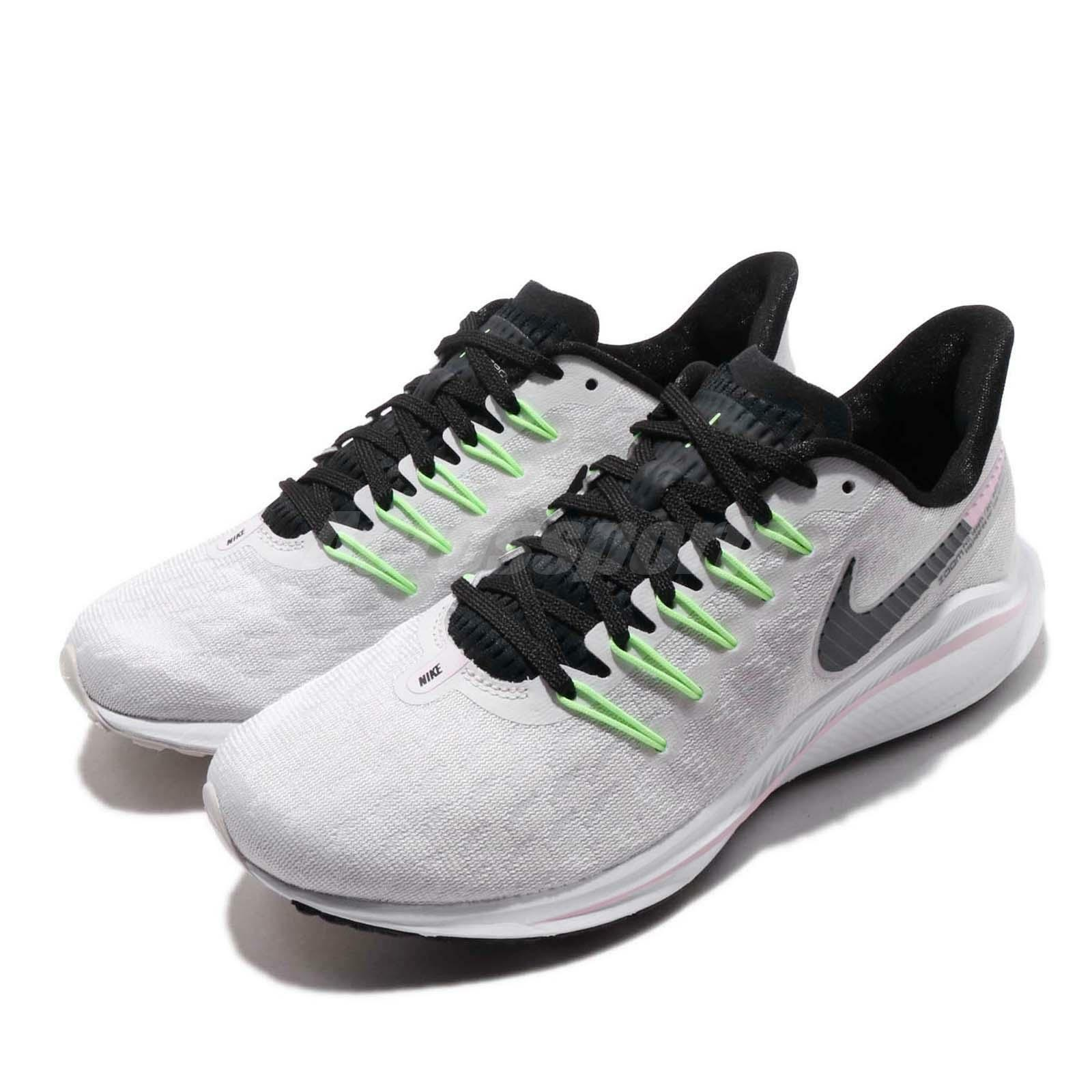 uk availability 4bd1f 5820c Nike Wmns Air Zoom Vomero 14 Grey Black Pink WoHommes WoHommes WoHommes  Running Shoes AH7858-002 a69a53