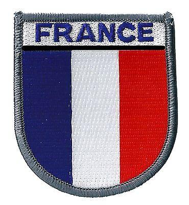 10 cm Autocollant Sticker Voiture Moto Blason Drapeau France Francais opex Militaire arm/ée op/ération ext/érieure