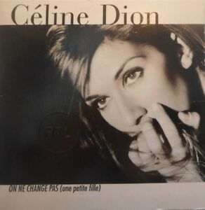CELINE-DION-ON-NE-CHANGE-PAS-RARE-CD-SINGLE