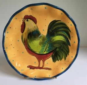 Rooster-Salad-Plate-Susan-Winget-Home-Decor-Chicken