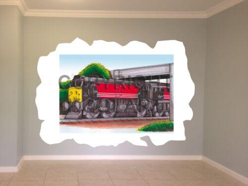 Huge Koolart Cartoon Train Virgin Wall Sticker Poster Mural 899