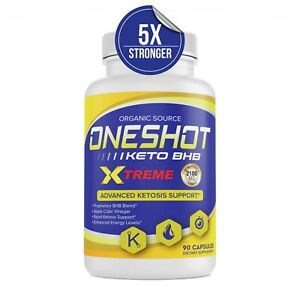 Keto One Shot Weight Loss Pills Supplement Keto Diet Fat Burner 90 Capsules
