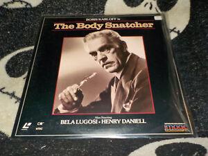 The-Body-Snatcher-Laserdisc-Ld-Boris-Karloff-Bela-Lugosi-Ordini
