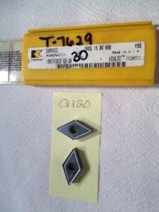 5-NEW-KENNAMETAL-DNMG-432-CARBIDE-INSERTS-DNMG-15-04-08B-GR-K68-Q120