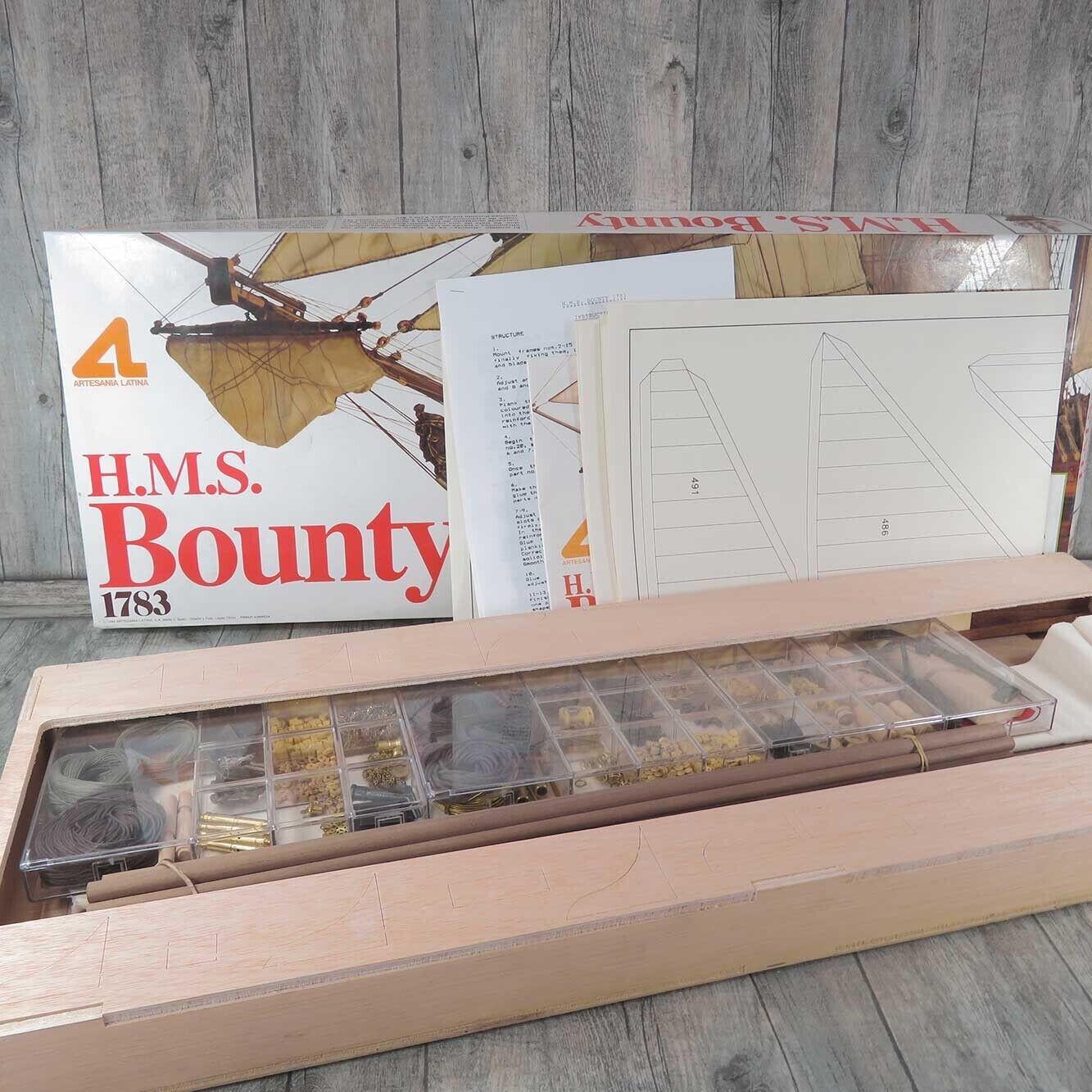 ARTESANA LATINA 20730 - 1 48 - H.M.S. Bounty 1783 - OVP- A26793