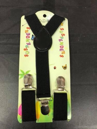 BOYS GIRLS KIDS Color New Born Baby Toddler Children Elastic Suspenders