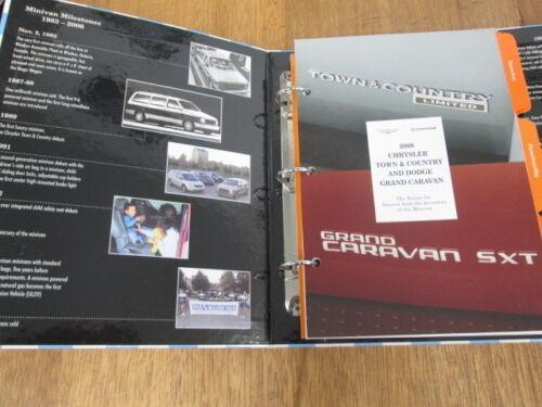 2008 Dodge Caravan Chrysler Town & Country Press Media Sales ...