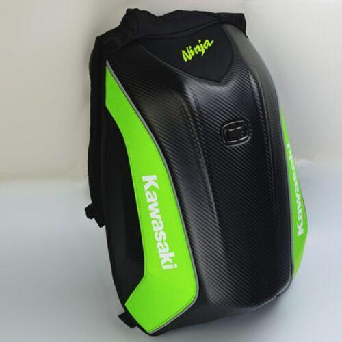 New No Drag Carbon Fiber Waterproof  Backpack For Motorcycle Riding Kawasaki
