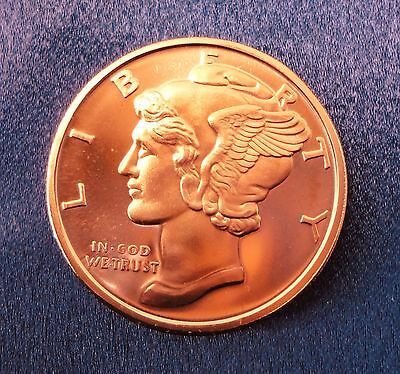 """2 Walking Liberty American Eagle 1oz Copper Round - /""""2 COINS/"""""""