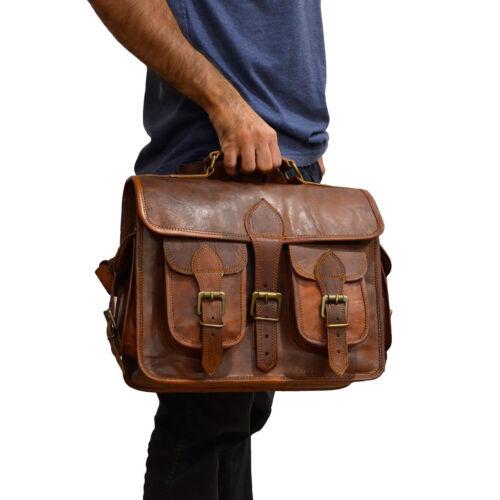 Camera Bag Messenger Shoulder Bag Men/'s Genuine Leather DSLR Cross Body Carry On