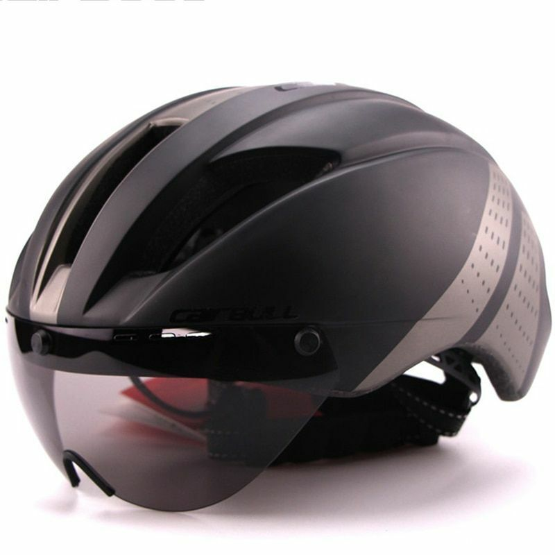 280g Aero Ultra-light Goggle TT Road Bicycle Helmet Racing Cycling Bike Sports S