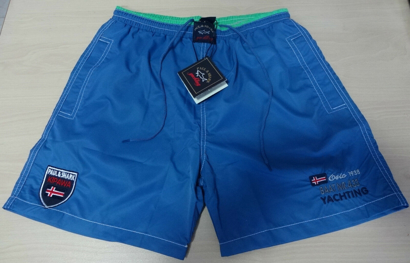 NEU PAUL&SHARK Yachting Shorts, Trunks Badehose %%%Red.