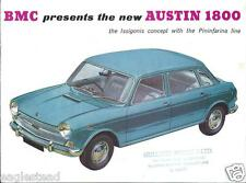 Auto Brochure - BMC Austin - 1800 - Issigonis Pininfarina - c1964 (AB633)