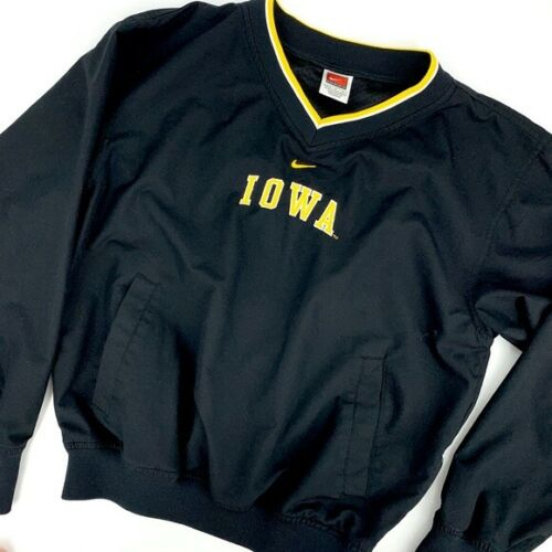 NIKE Iowa women's V neck pullover windbreaker, Siz