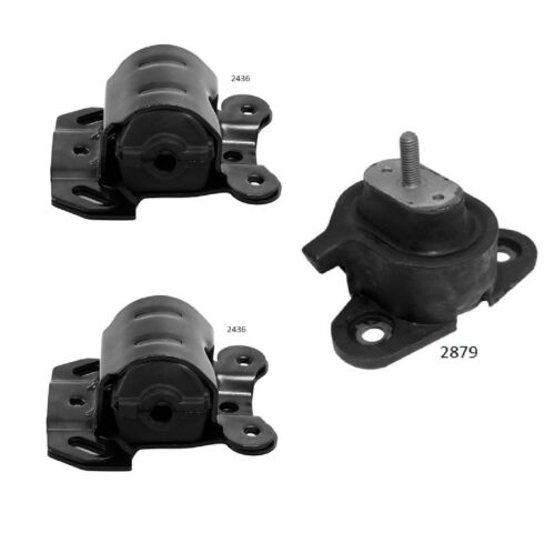 3 PCS Motor /& Trans Mount For 1994-2005 GMC Safari Van 4.3L 2WD