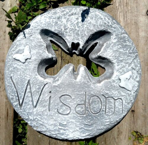 Gostatue WISDOM butterfly stepping stone plastic mold concrete mold plaster mold