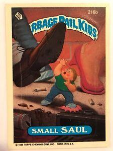 Garbage Pail Kids Gpk Original Series 6 216b Small Saul Non Mint Ebay