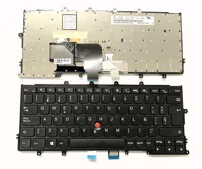Spanish backlit keyboard for Lenovo ThinkPad 04X0225 04X0187 01EP072 01EN596