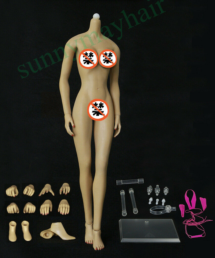 1 6 JIAOU DOLL Super Flexible European Shape Female Brown Skin Big Bust Body
