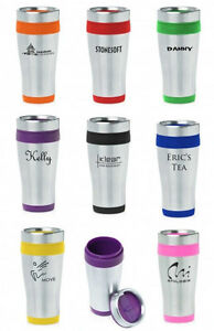 Personalized-Insulated-Stainless-Steel-Travel-Mug-Black-Red-Green-Pink-Purple