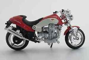 MOTOGUZZI-MOTO-GUZZI-V10-Centauro-Rojo-Blanco-1-18-Modelo-De-Motocicleta
