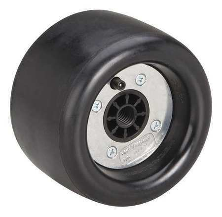 DYNABRADE 94472 Pneumatic Wheel,5In Dia,For 13F631