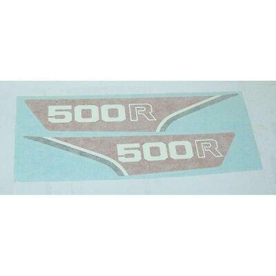 ADHESIVE decalcomanie adesivi decals stickers fianchetti HONDA XL 500 R 1982 AD1