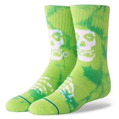 Stance NEW Misfits Boys Socks Green BNWT