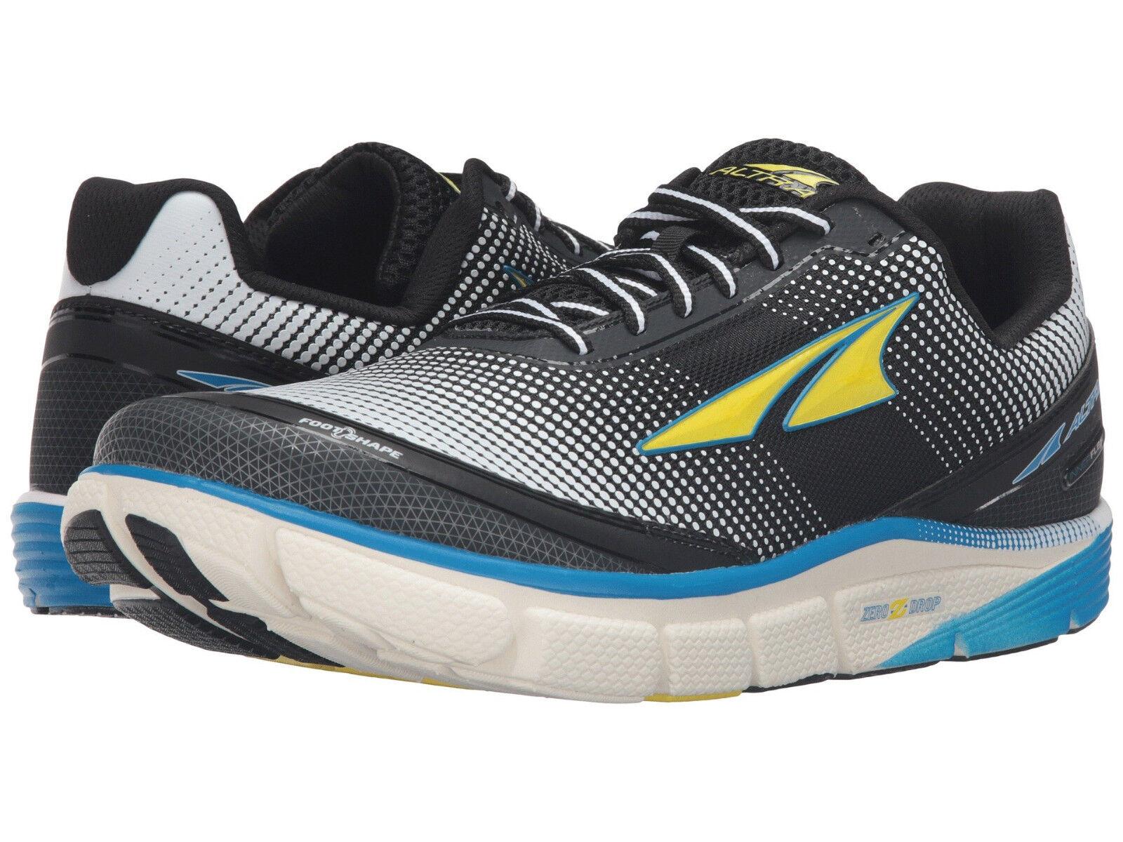 Altra Torin 2.5 Running Shoes, Men's Sizes 10-12 Medium, Blue / Yellow, NEW