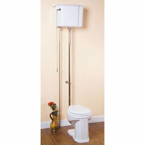 Pull Chain Toilet New Barclay Pull Chain Toilet Trim Kit Polished Chrome EBay