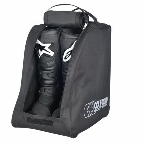 Black Oxford OL262 Motorcycle Bike Bootsack Essential Boot Carrier