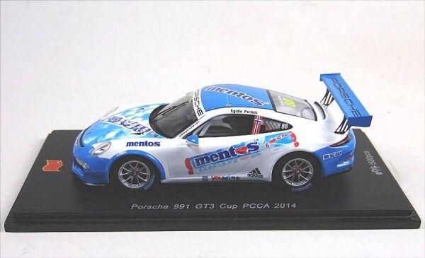 Porsche 991 gt3 Cup (Mentos) No. 88 Egidio supposer-pcca 2014