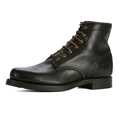 Mens Frye Boots Arkansas Mid Lace Black