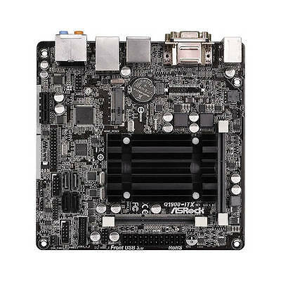 ASRock Q1900-ITX DDR3 PC Motherboard WITH Intel J1900 2.0GHz CPU Processor Combo