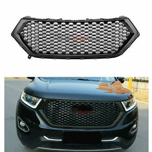 Fit-For-Ford-Edge-2015-2018-Front-Bumper-Hood-Grill-Upper-Grille-Black-Honeycomb