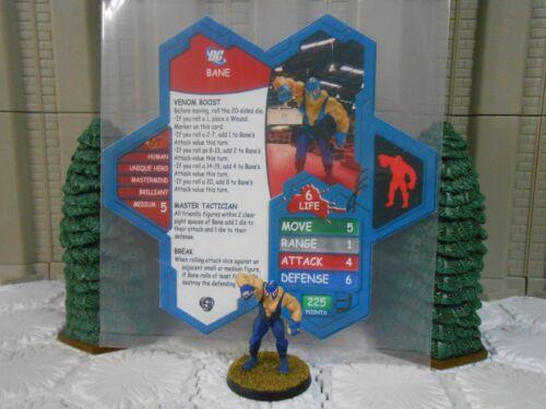 Heroscape Custom Bane Double Sided Card & Figure w/ Sleeve DC