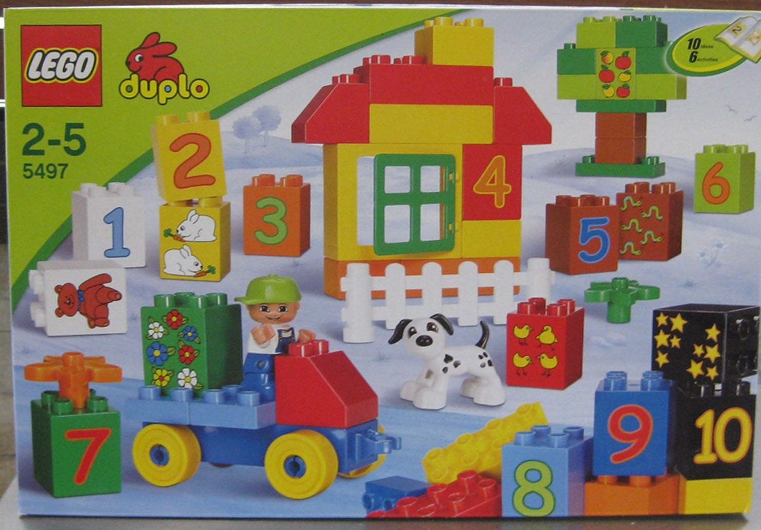 LEGO DUPLO 5497 PLAY WITH NUMBERS ** BRAND NEW** DATED 2010