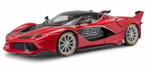 FERRARI FXX-K #88 RED SIGNATURE SERIES 1:18 DIECAST MODEL CAR BY BBURAGO 16907