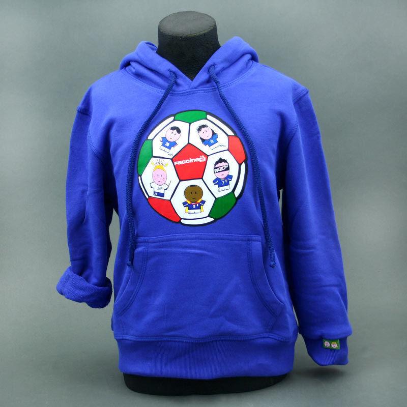 Faccinep Kapuzenpulli Mod. Italie 2012 blau blau blau | Lebensecht  3cedc2
