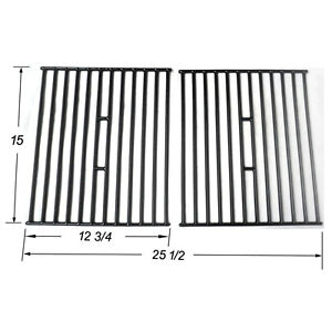 Char-Broil 18.35-in x 8.89-in Rectangle Porcelain-coated Cast Iron Cooking Grate