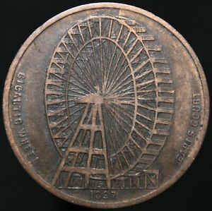 1897-gigantesque-roue-Earls-Court-medaille-medailles-KM-Pieces