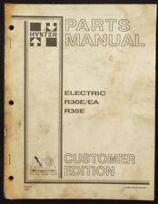 Hyster Electric R30eea R35e Forklift Parts Manual