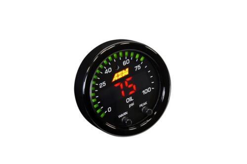 AEM X-Series Pressure 0-100psi Gauge Kit aem30-0301