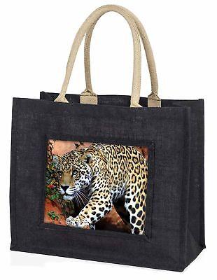 Jaguar große schwarze Einkaufstasche Weihnachten Geschenkidee, at-4blb