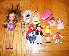 x11 ACTION FIGURE LOT Girls Bratz Doll MADAM ALEXANDER Mcdonalds LPS Disney Toys