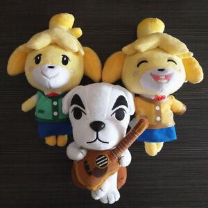 Animal Crossing New Horizons Shizue Isabelle KK Slider Plush Toy Soft Doll Gifts