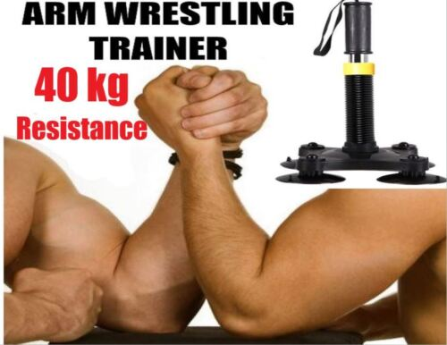 Arm Wrestling Exercise Muscle Power Wrist Grip Strength Machine Gym Armwrestler